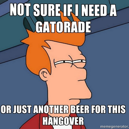 how to avoid a hangover from beer